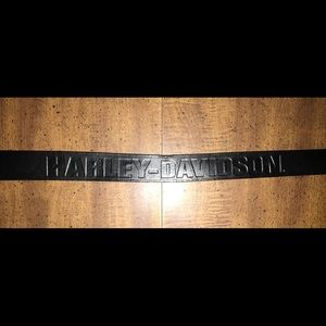 Men's Harley Davidson belt with changeable buckle